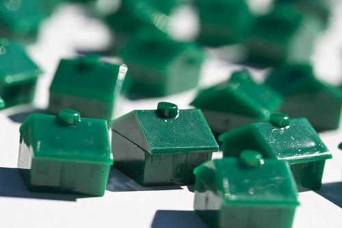 random-green-houses