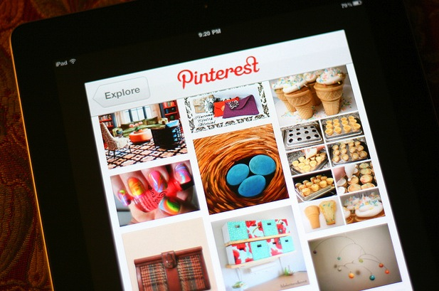 pinterest on ipad