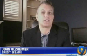 John Ulzheimer, Credit Sesame on 9 WSOC TV