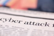 cyber attack news paper headline
