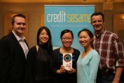 Credit Sesame Team with Award