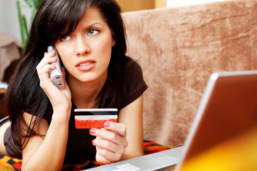 calling credit card company