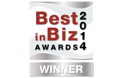 2014 Best in Biz Awards Winner