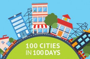 100 Cities in 100 Days