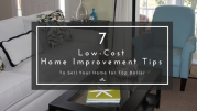 low cost home improvement tips