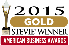 2015 American Business Awards Gold Stevie Winner