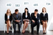 Employee Interviews and Credit Scores