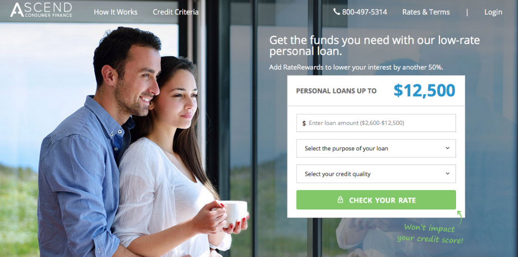 Ascend Personal Loan Review
